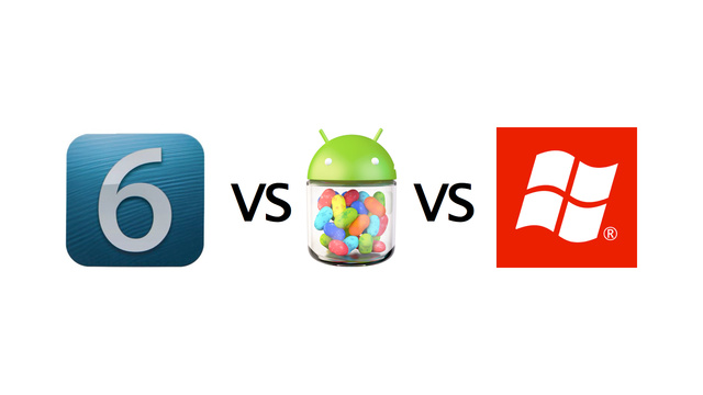 iOS vs Android vs Windows Phone 8